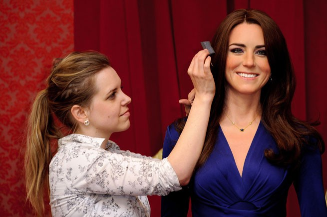 Your Royal Likeness Kate Middleton Waxwork Unveiled At