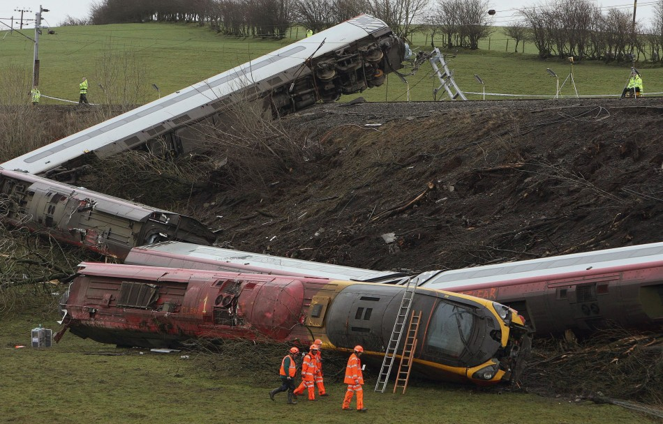 Network Rail have been fined £4m following the  Virgin train crash at Grayrigg (Reuters)