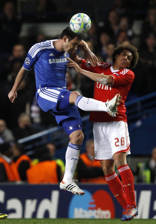 Soccer -  Chelsea v Benfica - Champions League - Second Leg - Quarter Finals - Stamford Bridge