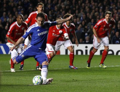 Soccer -  Chelsea v Benfica - Champions League - Second Leg - Quarter Finals - Stamford Bridge
