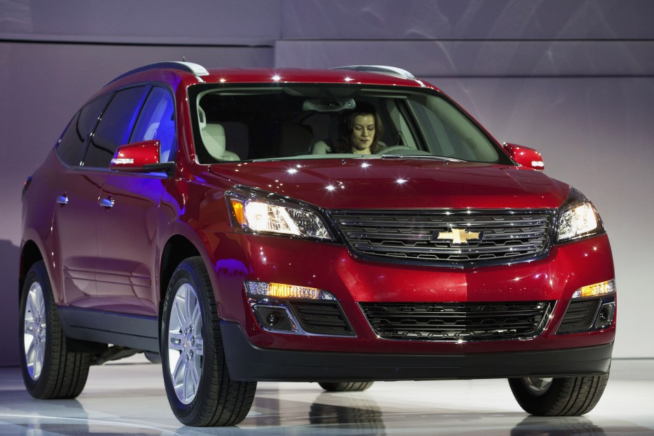 The new Chevy Impala is unveiled during the 2012 New York International Auto Show at the Javits Center in New York