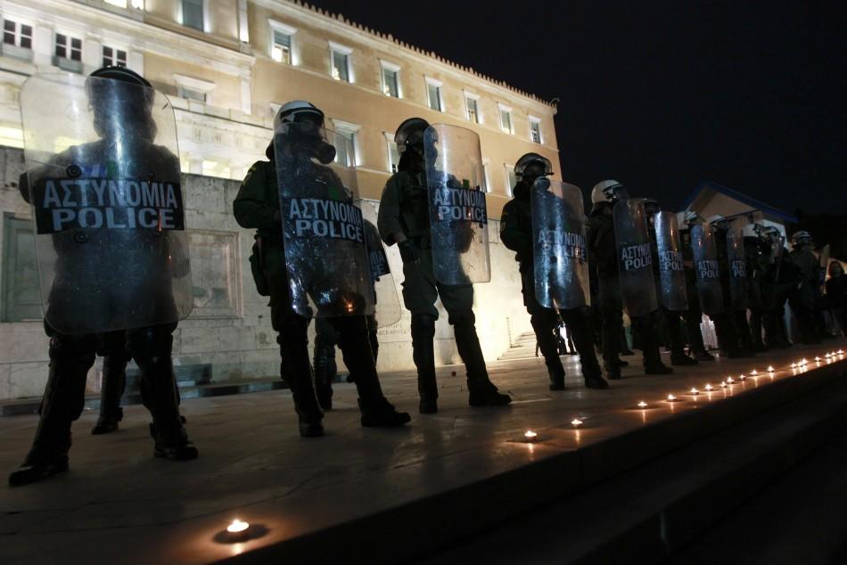 Greek Clashes over Pensioner039s Death