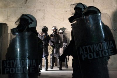 Greek Clashes over Pensioner039s Death