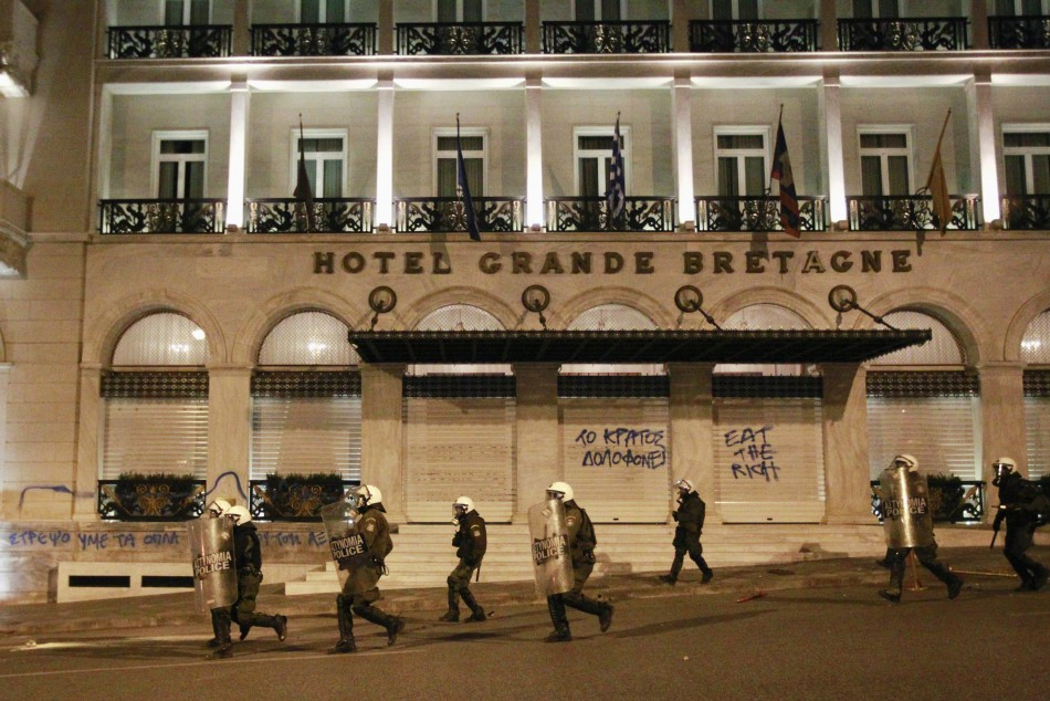 Grrek Clashes over Pensioner039s Death