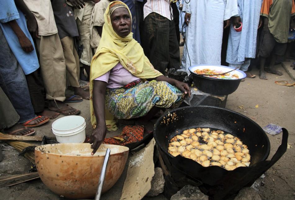 Nigeria street vendor