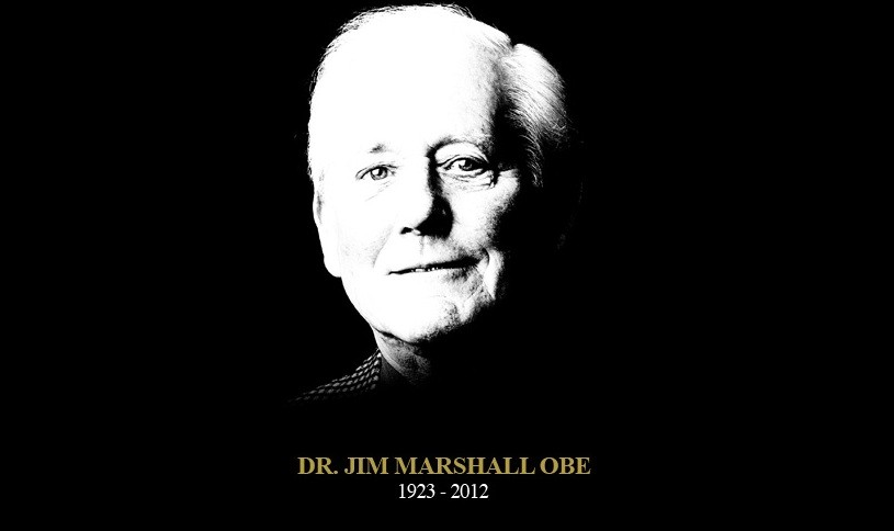 Tribute placed on Jim Marshall's website