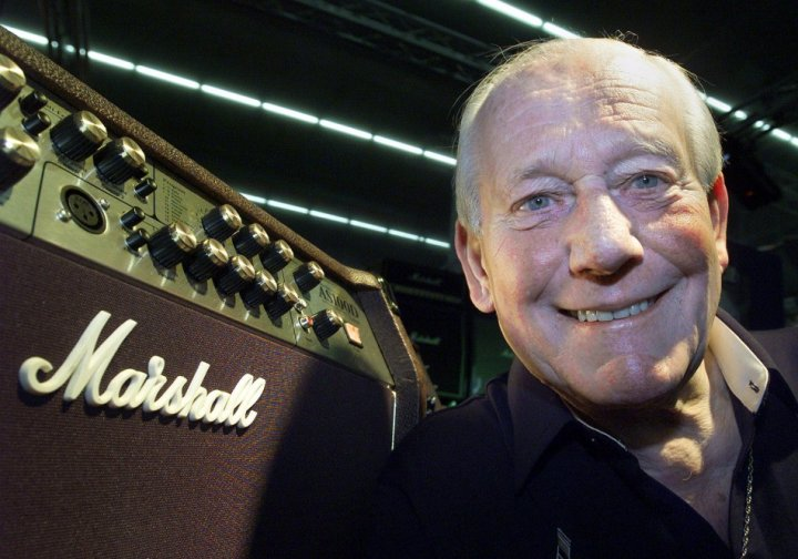 Jim Marshall's name became one of most recognisable for rock guitarists and their legions of fans