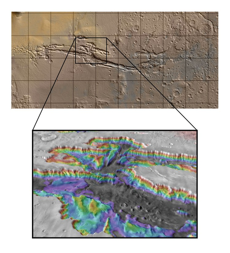 Nasa Got More Clues About Interior Layered Deposits In Mars