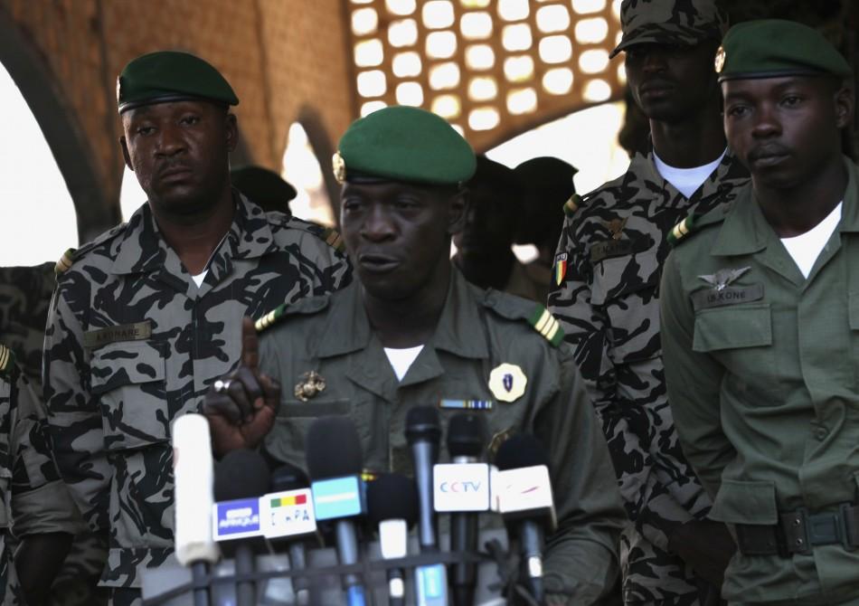 Captain Amadou Sanogo