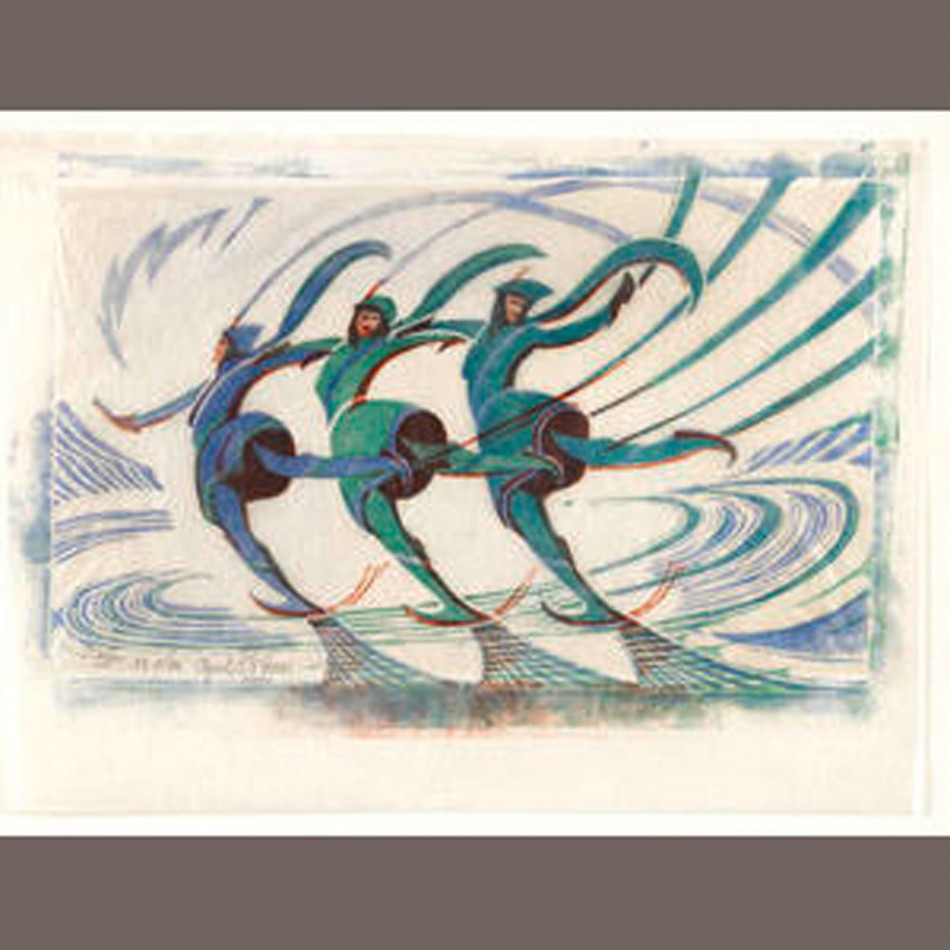 Iconic Works by Master British Print Maker Up for Sale at Bonhams