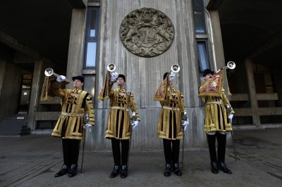 The State Trumpeters of the Household Cavalry Mounted Regiment