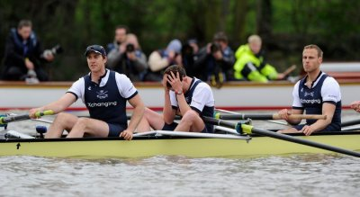 Boat Race 2012 Cambridge University Wins Over Oxford