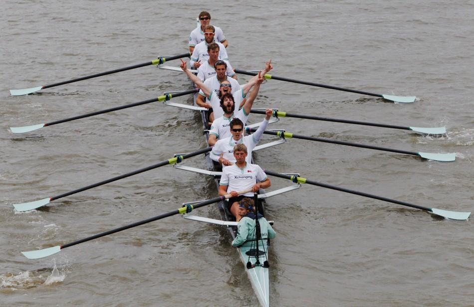 Boat Race 2012 Cambridge University Wins Over Oxford