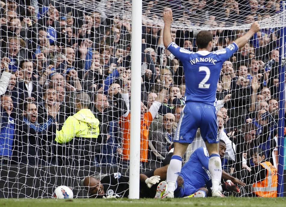 Soccer -  Chelsea v Wigan Athletic - Barclays Premier League - Stamford Bridge