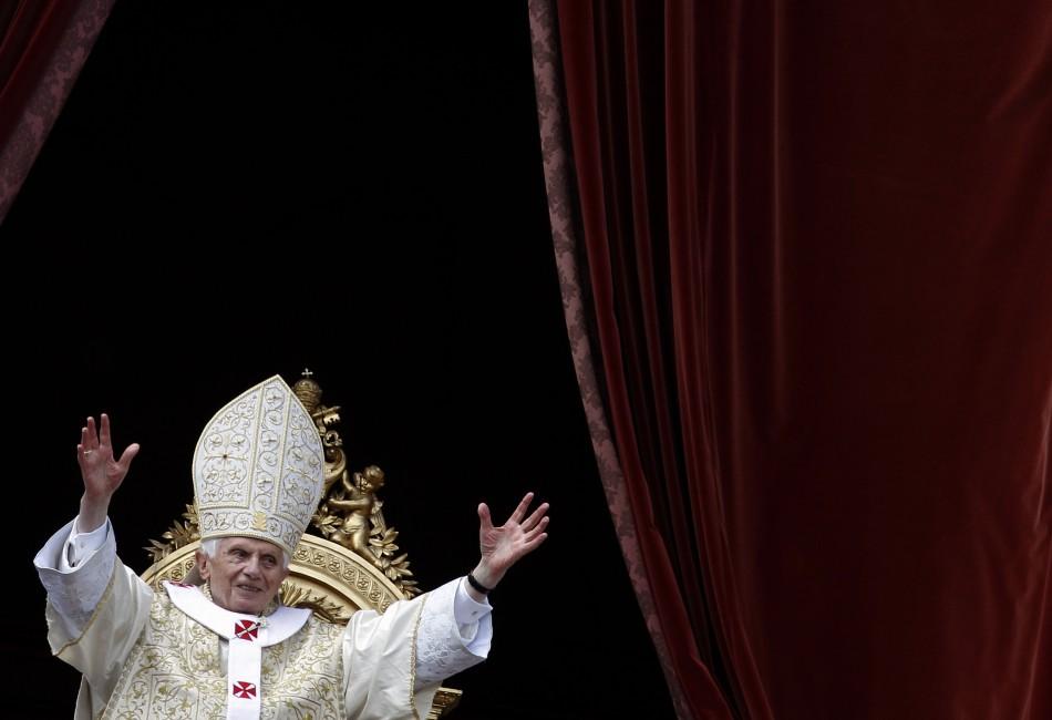 Pope Benedict XVI at St. Peter's Square