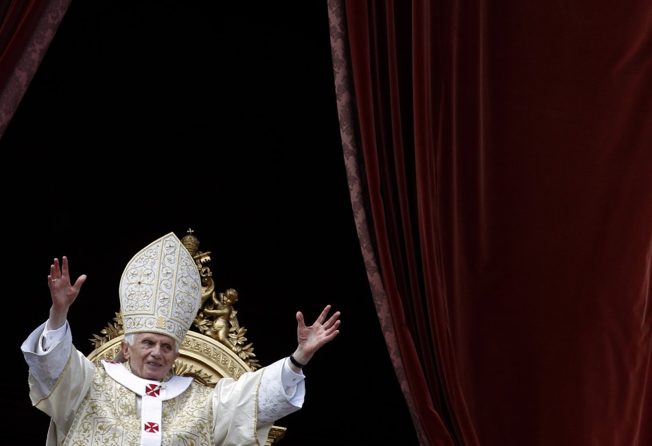 Pope Benedict XVI at St. Peter's Square