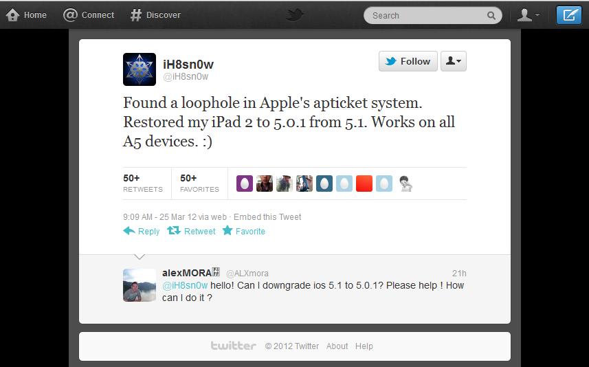 iH8Sn0w's Twitter Message