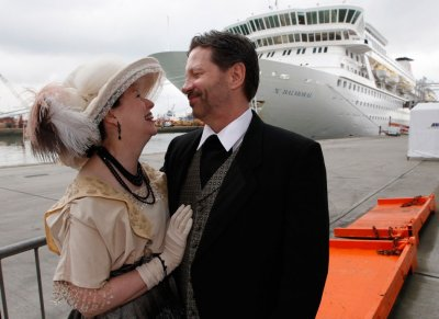 Titanic Memorial Cruise Doomed Journey Retraced with Victims Relative aboard