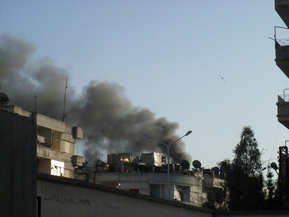 Homs Bombing Continues