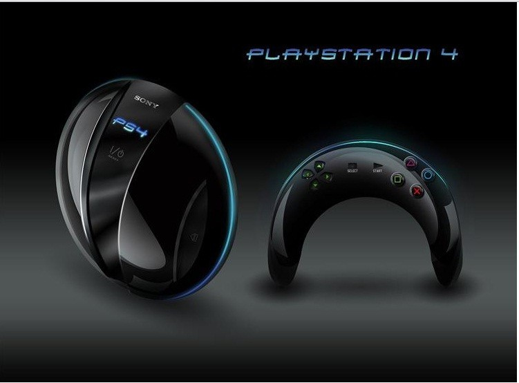 PS4 Concept Design