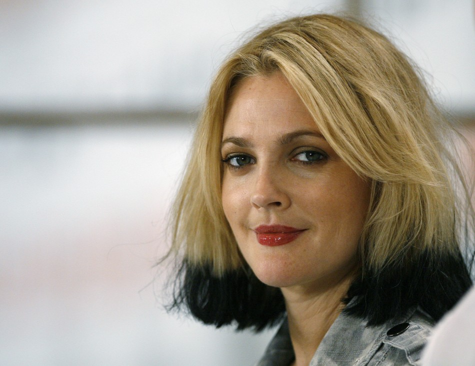 Barrymore attends a news conference for quotWhip Itquot during the 34th Toronto International Film Festival