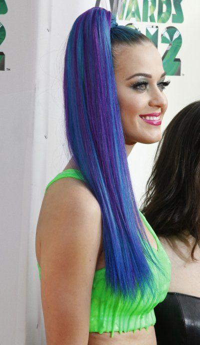 Singer Katy Perry arrives at Nickelodeons 25th annual Kids Choice Awards in Los Angeles