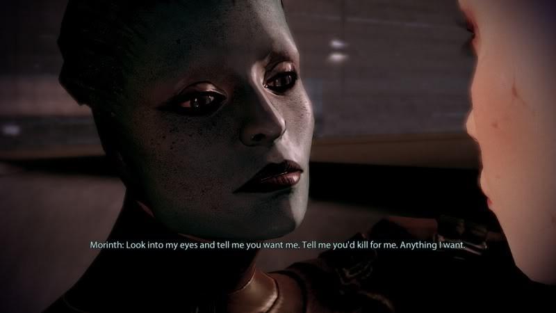 Mass Effect 3: Lesbian Subplot