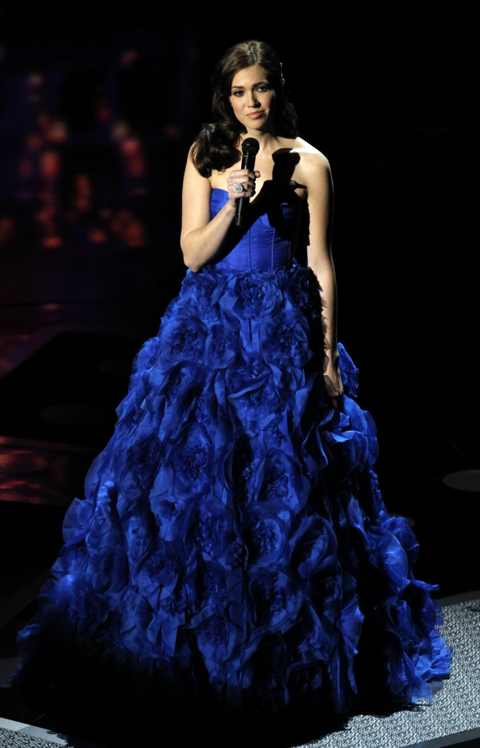 Moore sings the Oscar nominated song quotI See The Lightquot from the film quotTangledquot during the 83rd Academy Awards in Hollywood