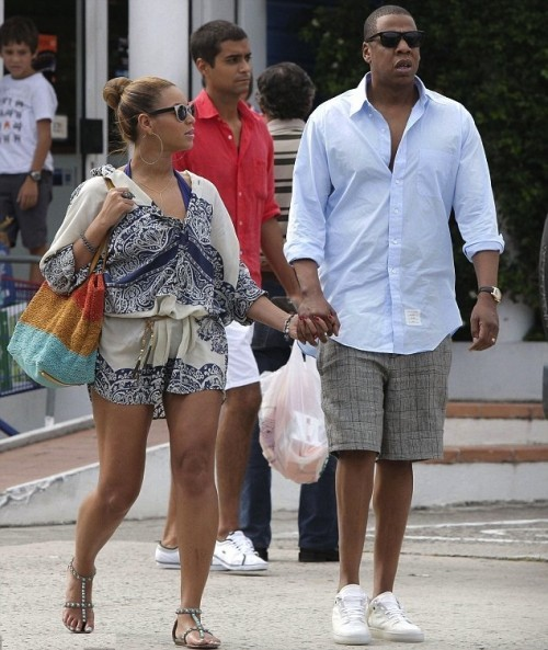 Beyonce and Jay Z in St Barts