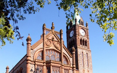 The Guild Hall in Londonderry