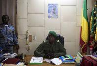 Mali's junta leader Amamdou Sanogo