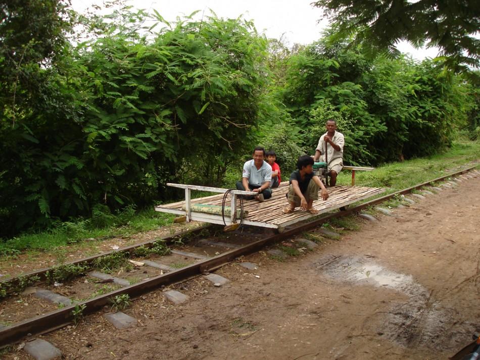 Bamboo Train, Cambodia