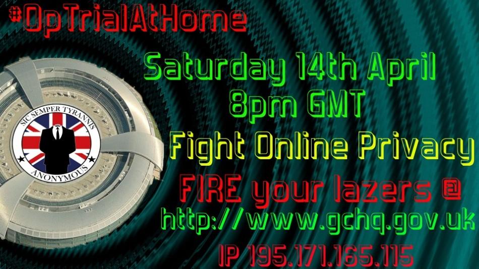 Anonymous Threatens GCHQ