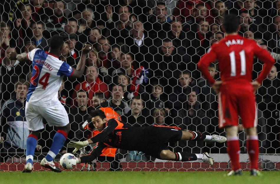 Soccer - Barclays Premier League - Blackburn Rovers v Liverpool - Ewood Park