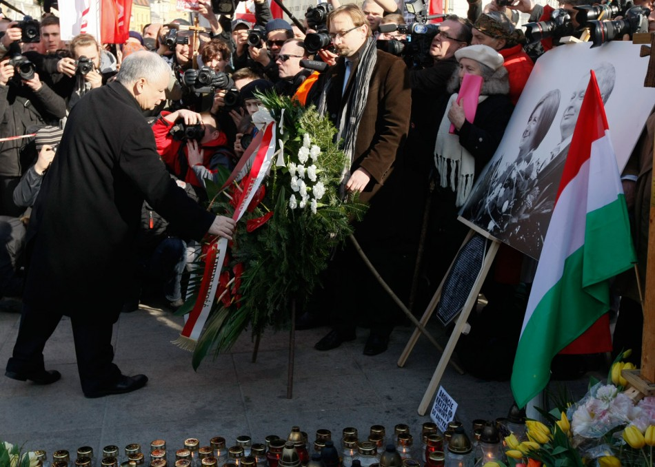 Poland Observes Second Smolensk Presidential Plane Disaster Anniversary