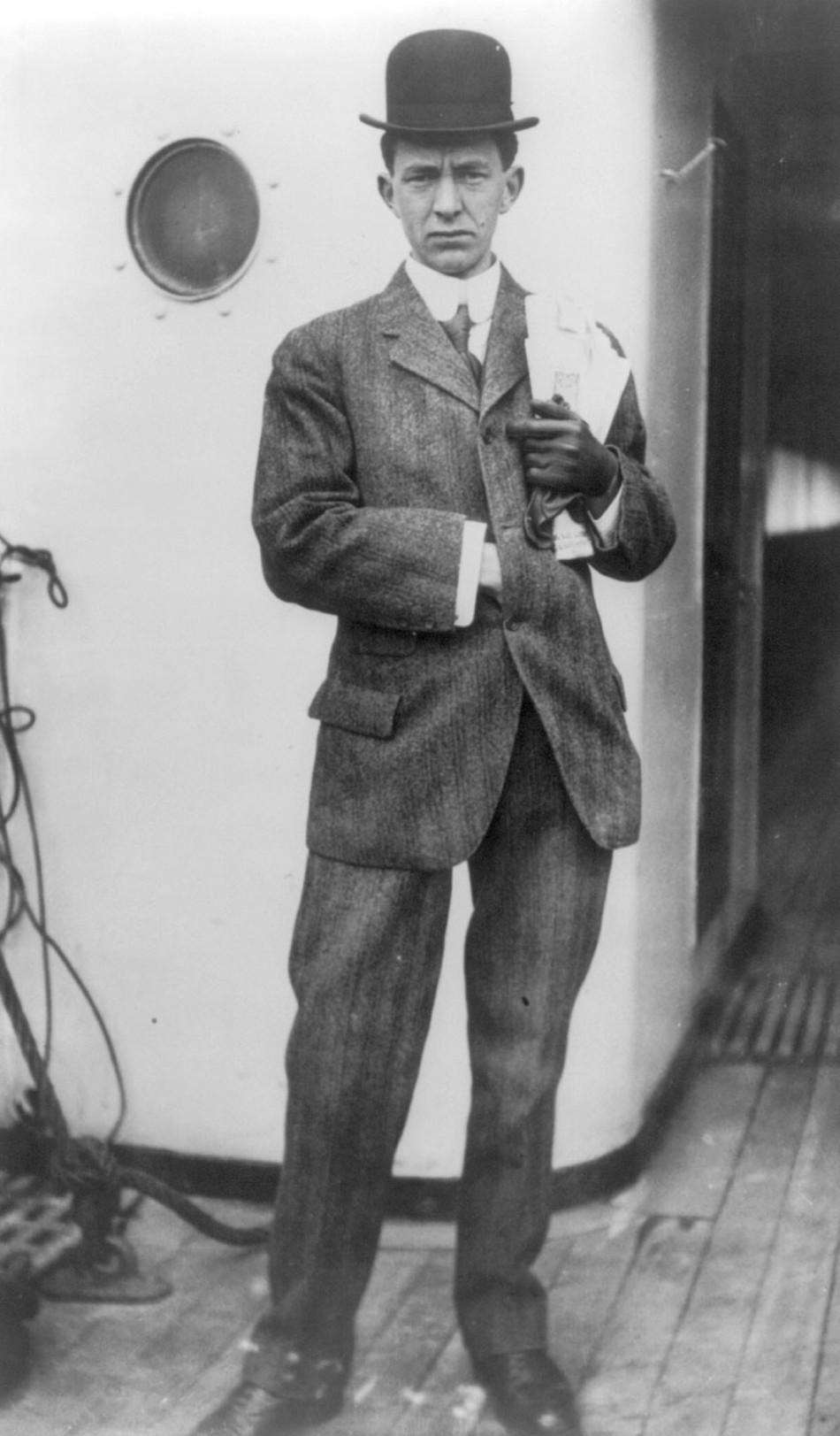 Stuart Collett a survivor of the Titanic sinking