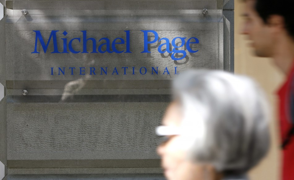 Michael Page Posts Rise in First Quarter Profits
