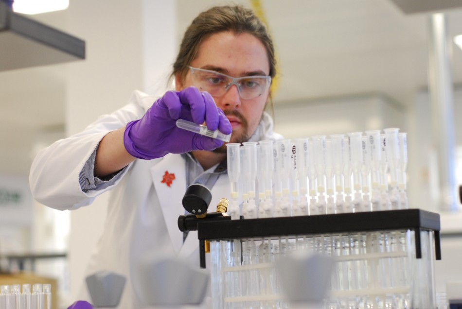 Samples from competing athletes at London 2012 will be taken to laboratory in Harlow for testing
