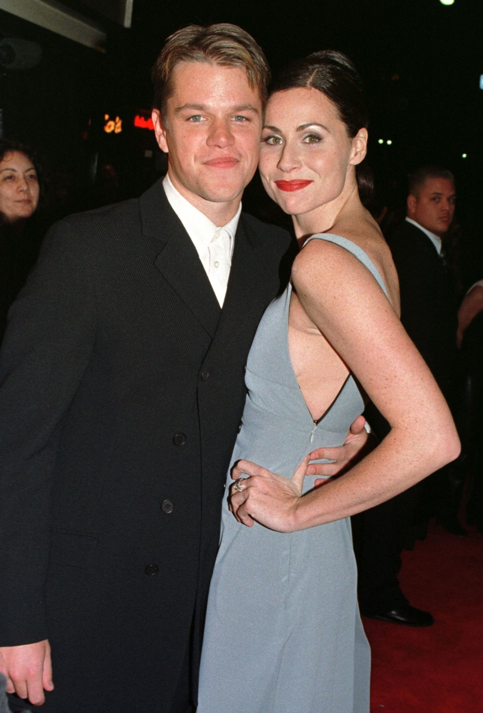 Matt Damon and Minnie Driver