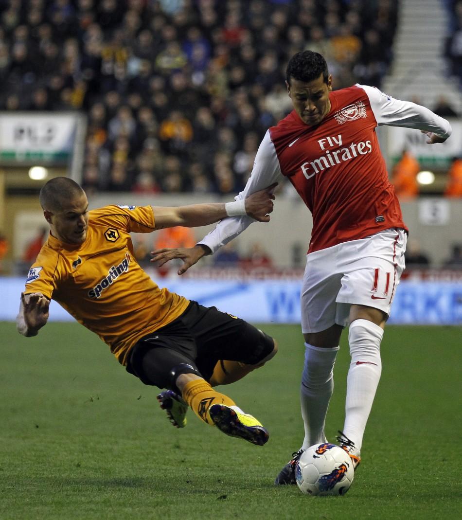 Wolves vs Arsenal