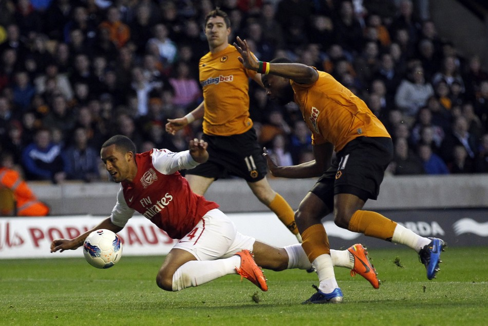 Wolves vs Arsenal (Source: Reuters)