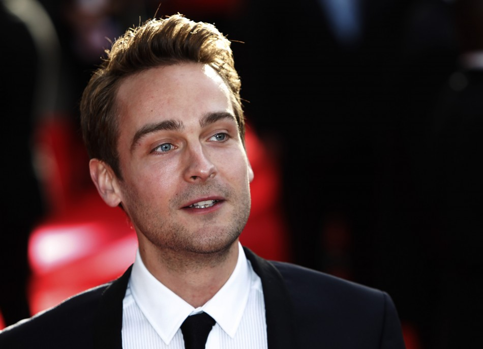 """Actor Tom Mison arrives for the European premiere of """"Salmon Fishing in the Yemen"""" at the Odeon Kensington in London"""