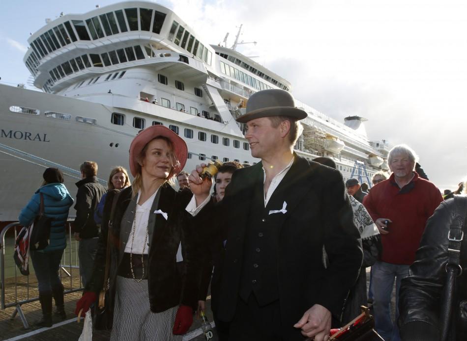 Titanic's Memorial Cruise Ship
