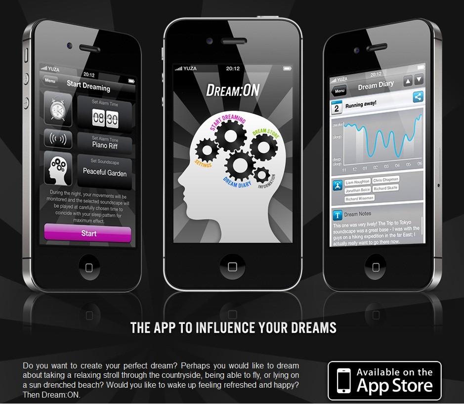 iPhone Dream:ON App