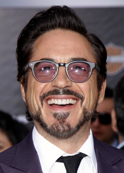 Cast member Downey Jr. poses at the world premiere of the film quotMarvels The Avengersquot in Hollywood, California