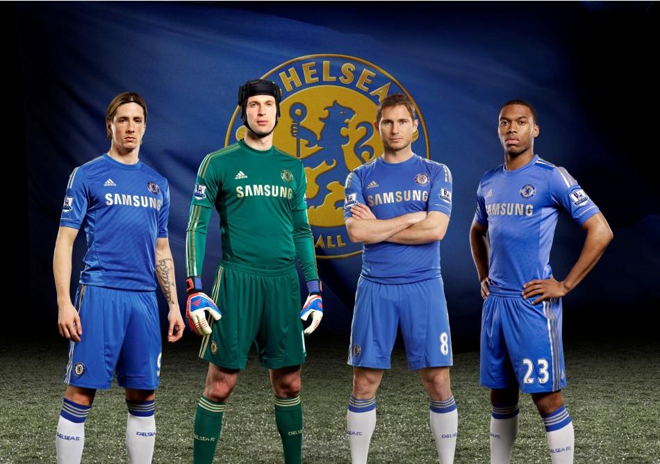 Chelsea039s 201213 season home kit