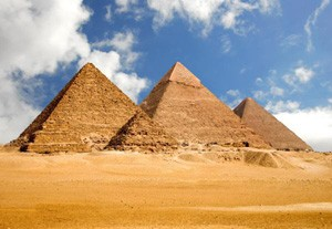 The great Egyptian Pyramids