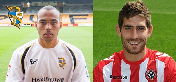 Clayton McDonald (left) and Ched Evans (right)
