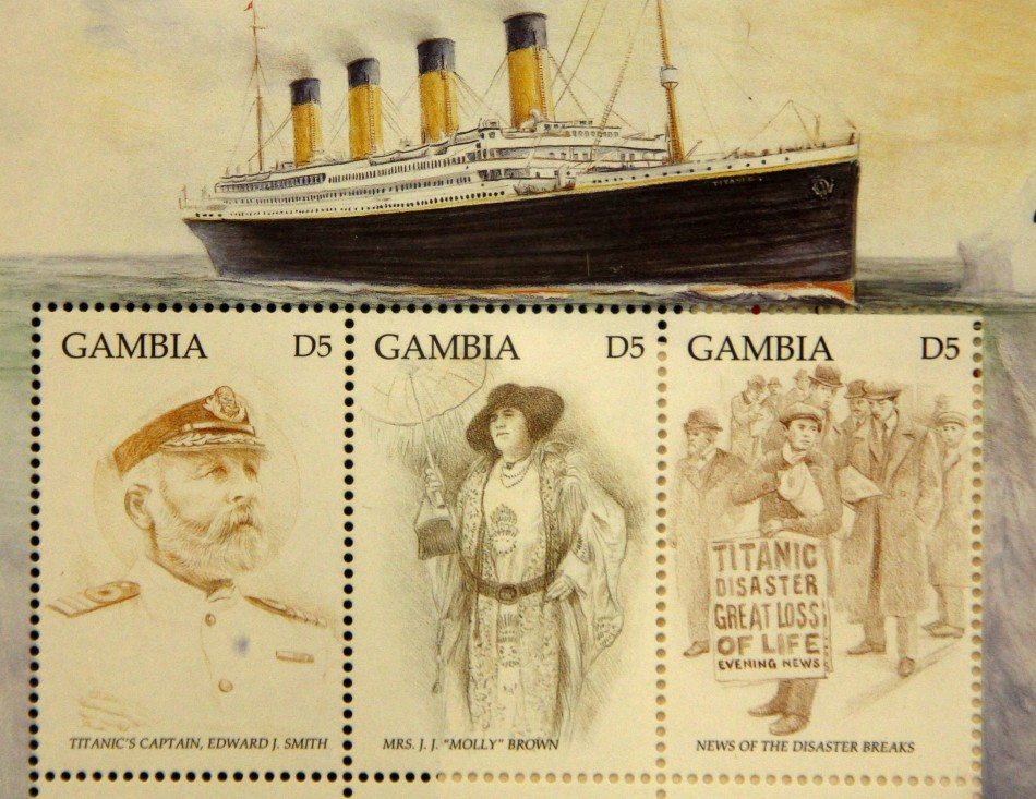 Titanic Stamps on Display Aboard 100th Anniversary Cruise ...