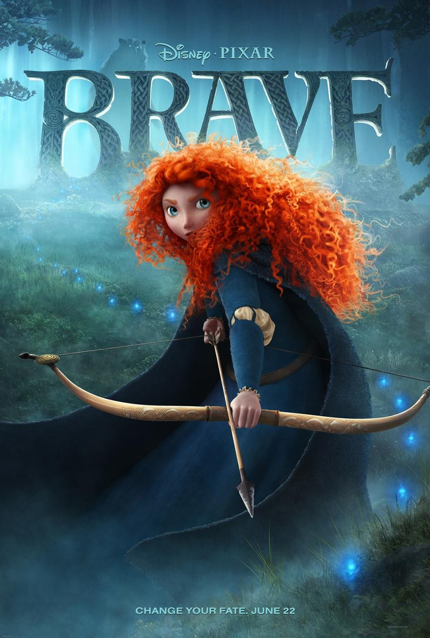 Brave Official Movie Poster